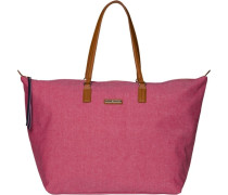 TOMMY HILFIGER Tommy Hilfiger Taschen »POPPY CHAMBRAY LARGE TOTE« bunt