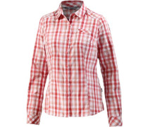 'Zion' Funktionsbluse rot / weiß