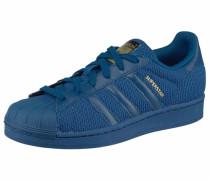 Sneaker 'Superstar' blau