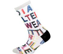 ein Paar Socken mischfarben / weiß
