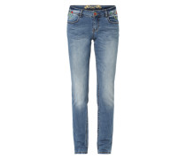 Slim-fit-Jeans 'Refriposas' blau