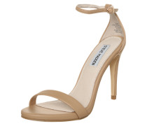 High Heel Sandalette 'Stecy' beige