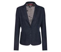 Blazer 'Tweed-Blazer' navy / weiß