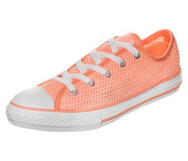 Chuck Taylor All Star OX Sneaker Kinder orange