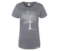 T-Shirt Print grau
