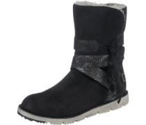 Yuki Stiefel schwarz / weiß