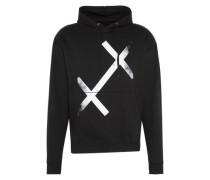 Kapuzensweater 'XX Hoodie R-Neck' schwarz