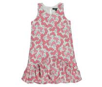 Sommerkleid mischfarben / pink / naturweiß