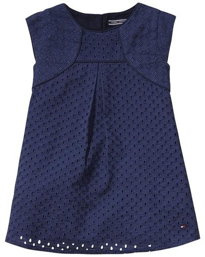 Dresses »Florence Mini Dress S/s« dunkelblau