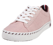 Sneaker im Canvas-Look rosa