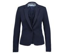 Jersey Blazer 'Pique' blau