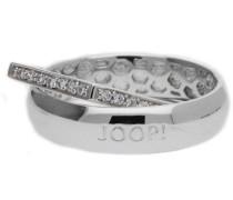 Fingerring Silber Silber Edged silber