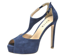 Sandalette blau