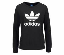 Sweatshirt »Trefoil Crew Sweater« schwarz