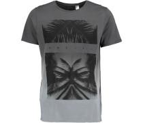 T-Shirt 'tropicool' grau
