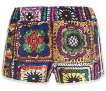 Short 'Crochita' mischfarben