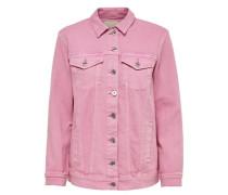 Oversize Jeansjacke pink