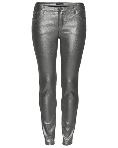 Jeans silber