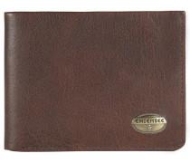 Formosa Geldbörse Leder 13 cm braun