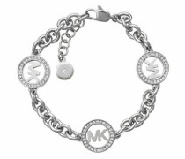 Armband 'mkj4730040' grau / silber