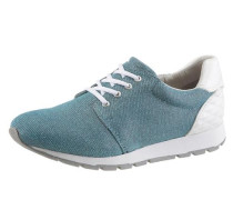 Sneaker blue denim / naturweiß