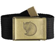 Gürtel Canvas Brass Belt 4 cm 77297-032 schwarz