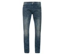 Jeans 'Denim Troy Slim' blue denim