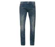 Jeans 'Denim Troy Slim' blue denim