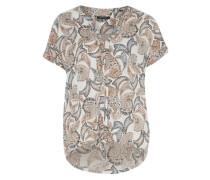 Blusenshirt mit Allover-Print mischfarben