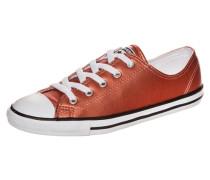 Chuck Taylor All Star Dainty Metallic OX Sneaker Damen braun
