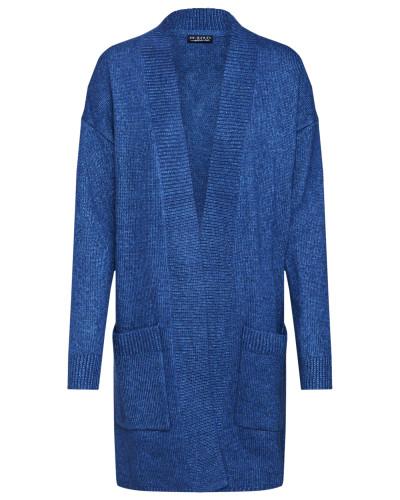 Strickjacke 'Knit Cardigan' blau