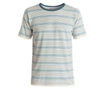 T-Shirt 'Cheer Mate' himmelblau / weiß