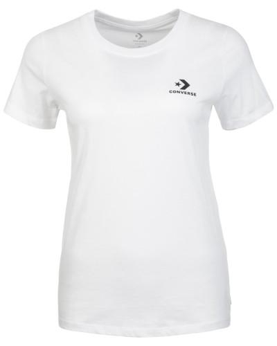 Shirt 'Star Chevron' schwarz / weiß