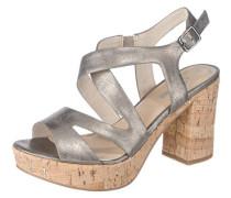 'Lessi' Sandaletten silber