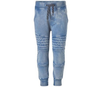 Jogginghose Gissi blau / blue denim