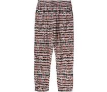 Hose für Mädchen braun / grau / rot / schwarz / weiß