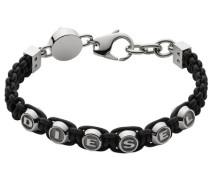 Armband »Foundry« schwarz / silber