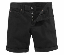 Denim Shorts schwarz
