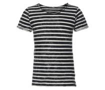 Shirt 'dabito T/s' schwarz / weiß