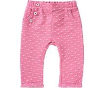 Baby Sweathose für Mädchen pink
