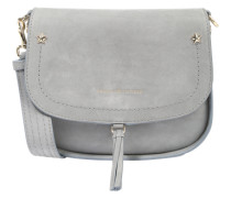 Umhängetasche 'City Saddle Bag' grau