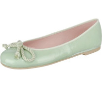 Ballerinas 'Ipnotic' mit Kordelschleife pastellgrün