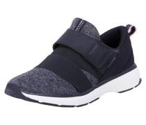 Sneaker Riemchen- dunkelgrau