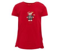 T-Shirt '1/4 Arm' rot