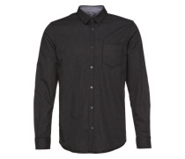 Hemd 'Ray casual bedford check shirt' grau
