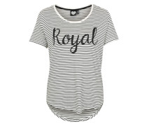 Shirt 'Royal Stripe' weiß