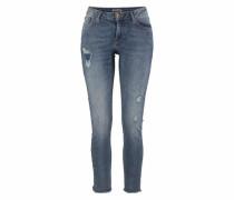 Slim-fit-Jeans 'Rachelle Slim' blue denim