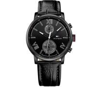 Multifunktionsuhr »1791310« schwarz