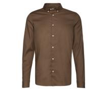 Hemd 'Basic B.d. Shirt' dunkelgrau