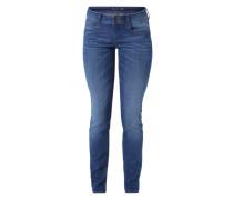 Skinny Jeans 'Carrie' blau